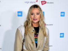 Laura Whitmore is expecting a baby in the new year (Ian West/PA)