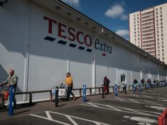 Tesco has agreed to pay back £585m saved from the Government's business rates holiday. (Yui Mok / PA)