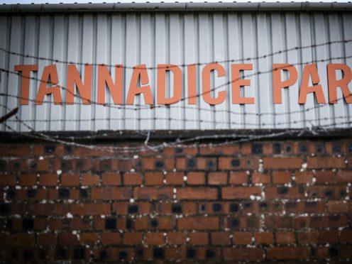 Rangers visit Tannadice on Sunday (Jane Barlow/PA)