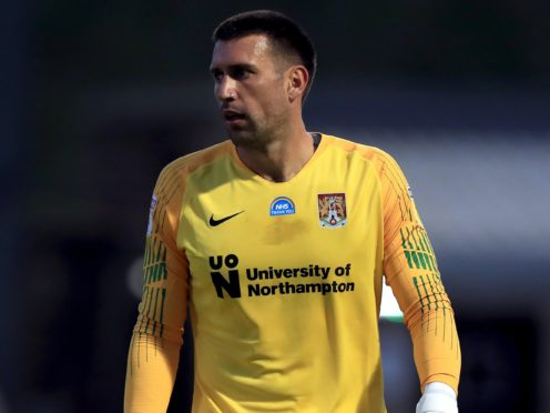 Northampton could continue their goalkeeper rotation after Steve Arnold was restored to the starting line-up in midweek (Mike Egerton/PA)
