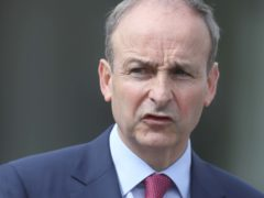 Micheal Martin's comments came as leaders north and south of the Irish border voiced support for a trade deal
