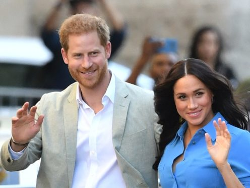 The Duke and Duchess of Sussex have updated the website for their non-profit organisation Archewell (Dominic Lipinski/PA)