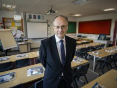 Peter Weir said he hopes the changes reduce stress for pupils (Liam McBurney/PA)
