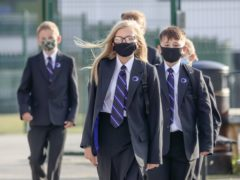 A public health expert has said school outbreaks of Covid-19 may be due to the virus being taken into schools several times rather than transmission between pupils (Danny Lawson/PA)