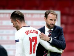 Gareth Southgate says England's players, including Jack Grealish, must realise the responsibility which comes with playing for the national team (Nick Potts/PA)