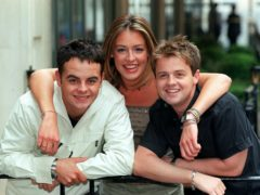 Ant and Dec, with co-host Cat Deeley (Peter Jordan/PA)