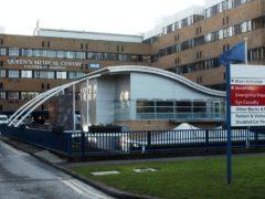 Queen's Medical Centre, Nottingham. (Emma Coles/PA)