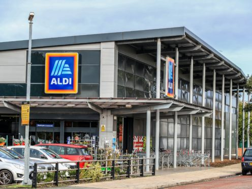 Aldi has become the latest retailer to hand back savings from business rates relief (Peter Byrne/PA)
