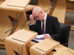 Deputy First Minister John Swinney has been accused of failing to act on Parliament's calls for the recruitment of at least 2,000 additional teachers to help Scottish schools cope with the pandemic (Andrew Milligan/PA)