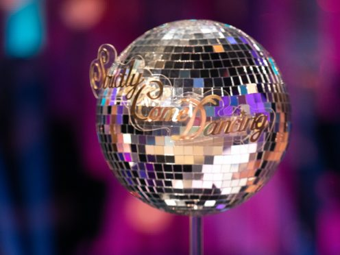 The Strictly Come Dancing glitterball trophy (Guy Levy/BBC)