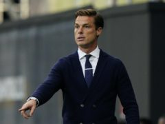 Scott Parker knows his defence will be tested against Liverpool (Will Oliver/PA)