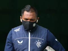 Rangers striker Alfredo Morelos faces a Hampden disciplinary hearing on Thursday (Jane Barlow/PA)
