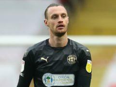 Will Keane netted the winner for Wigan at Burton (Steven Paston/PA)