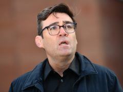 Greater Manchester mayor Andy Burnham (Jacob King/PA)