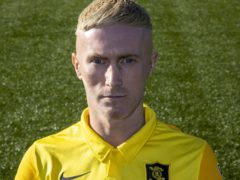 Craig Sibbald scored Livingston's opener against Ross County (Jeff Holmes/PA)