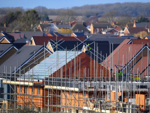 The Government has said it remains committed to building 300,000 new homes a year in England (Joe Giddens/PA)