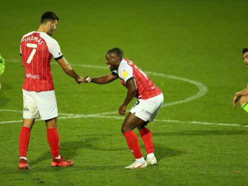 Alex Addai scored his first Maidenhead goal (Nigel French/PA)