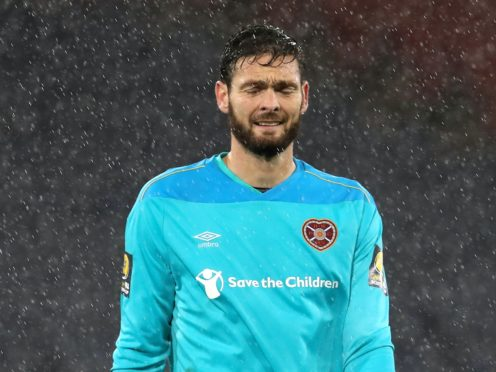 Craig Gordon will face former club Celtic at Hampden (Andrew Milligan)