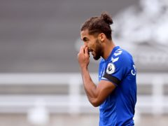 Everton manager Carlo Ancelotti admits Dominic Calvert-Lewin will have to be rested in December (Michael Regan/PA)