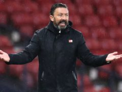 Aberdeen manager Derek McInnes has called on his squad to live up to their billing (Andrew Milligan/PA)