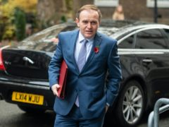 Environment Secretary George Eustice believes Black Lives Matter is a political movement (Dominic Lipinski/PA)