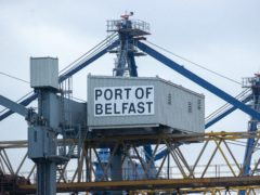 The vast bulk of GB goods arrive at either Larne or Belfast ports (Liam McBurney/PA)