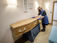The UK's competition watchdog has unveiled a number of proposals aimed at helping people booking a funeral as it said it 'continues to have serious concerns' about the sector (Danny Lawson/PA)