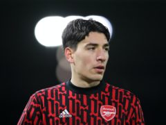 Hector Bellerin has backed Arsenal boss Mikel Arteta following a disappointing start to the season (Molly Darlington/PA)