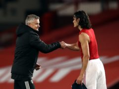 Ole Gunnar Solskjaer does not expect to have Edinson Cavani available against Sheffield United (Martin Rickett/PA)