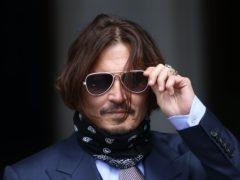 Actor Johnny Depp (Yui Mok/PA)