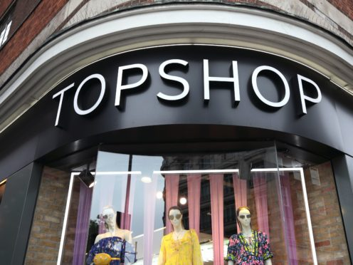 The Arcadia Group, which includes the Topshop, Dorothy Perkins and Burton brands, has hired Deloitte to handle its administration (Yui Mok/PA)