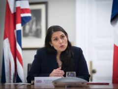 Priti Patel insisted the Brexit deal will help make the UK safer (Stefan Rousseau/PA)