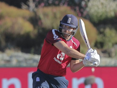 Dawid Malan smashed England to victory in Cape Town and a series whitewash (Halden Krog/PA)