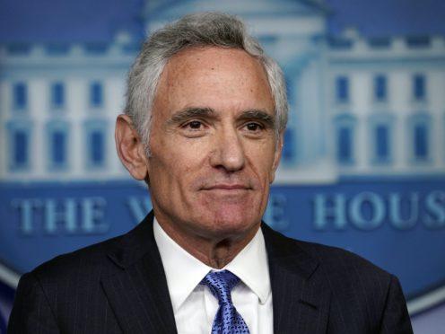 White House coronavirus adviser Dr Scott Atlas (Evan Vucci/AP)