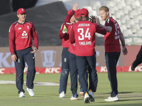 England's first ODI with South Africa was called off on Friday (Halden Krog/AP)