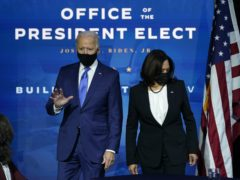 President-elect Joe Biden and Vice President-elect Kamala Harris have been named Time's Person of the Year (Andrew Harnik/AP)