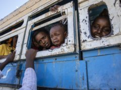 Many Tigray refugees have fled the conflict (Nariman El-Mofty/AP)