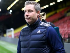 Cardiff manager Neil Harris has been charged by the Football Association after being sent off at Wycombe (Steven Paston/PA)