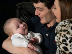 Award-winning photographer Joe Giddens is embarking on a mountain challenge to raise funds to give seriously ill baby Marley Powell an extra chance of life with the 'most expensive drug in the world' (Joe Giddens/PA)