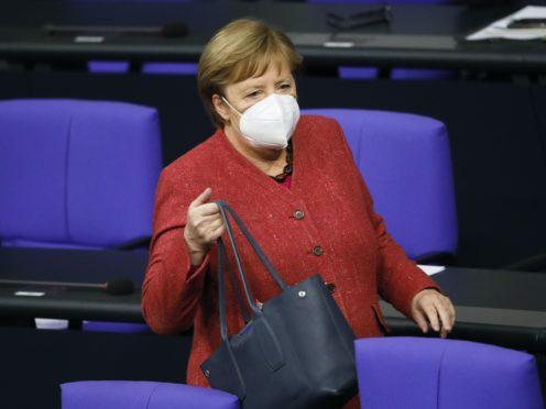 German Chancellor Angela Merkel (AP/Markus Schreiber)