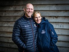 Mike Tindall has announced his wife Zara is pregnant with their third child (Anya Campbell/PA)