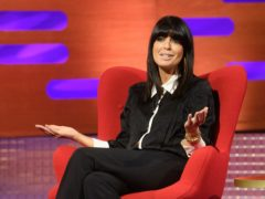 Claudia Winkleman during the filming for the Graham Norton Show (Jonathan Hordle/PA)