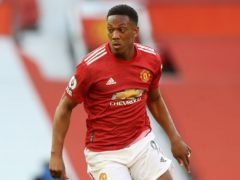 Manchester United's Anthony Martial is set to face City in this weekend's derby (Martin Rickett/PA)