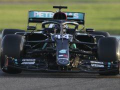 Lewis Hamilton is back for Mercedes this weekend (Kamran Jebreili/Pool via AP)