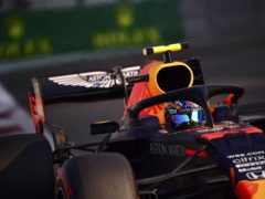Max Verstappen set the pace for Red Bull in the concluding practice session of the year (Giuseppe Cacace/AP)
