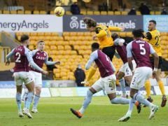 Fabio Silva is looking for his first senior Wolves goal (Tim Keeton/PA)
