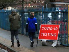 Tier 2 areas at risk of entering Tier 3 are to be offered access to community testing (Mike Egerton/PA)