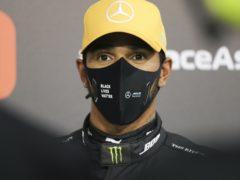 Lewis Hamilton admits he will not be in peak condition for the Abu Dhabi Grand Prix (Kamran Jebreili/AP)