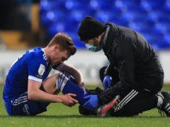 Jon Nolan was injured against Portsmouth (Mike Egerton/PA)