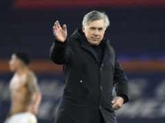 Everton manager Carlo Ancelotti believes this season's unpredictability can help his side (Peter Powell/PA)
